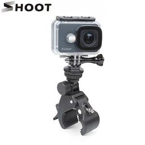 Image 1 - ยิงคลิปจักรยานผู้ถือMountสำหรับGoPro Hero 9 8 7 5สีดำXiaomi Yi 4K Dji Osmo sjcam Eken H9 Go Pro Hero 8 9อุปกรณ์เสริม