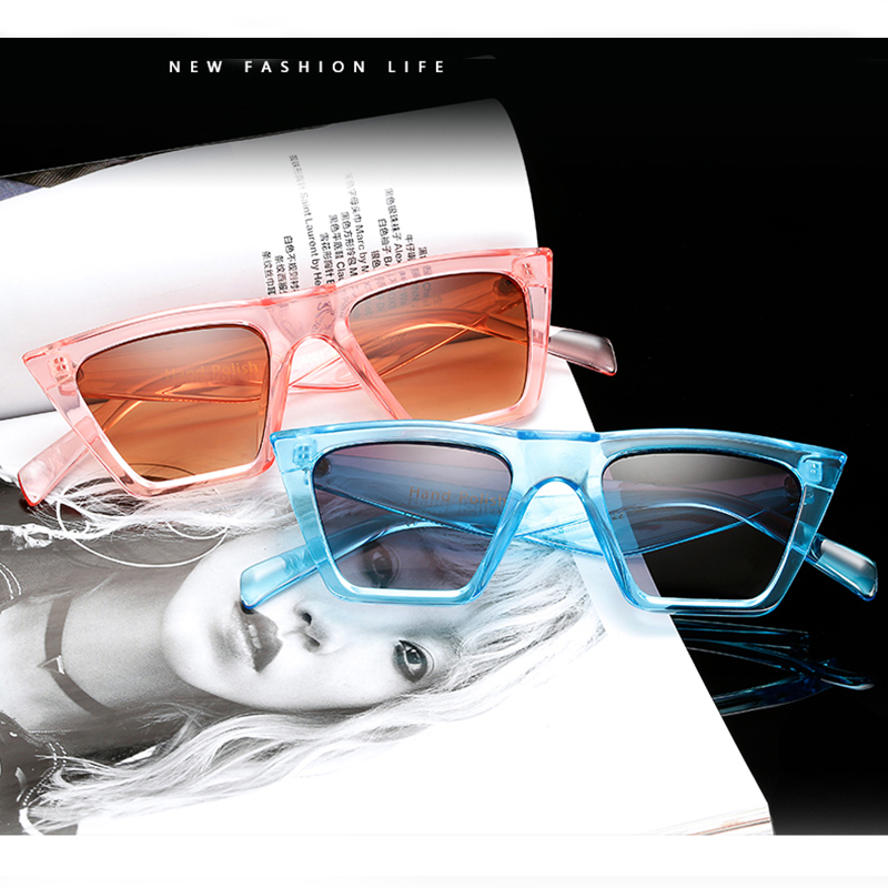 c0f876bcbb Vintage Square Sunglasses Women Luxury Brand Designer Sun Glasses Retro  Small Pink Ladies Sunglasses Black Eyewear oculos
