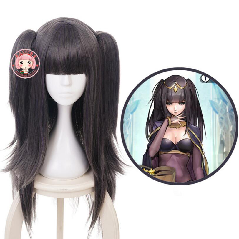 Fire Emblem Awakening Tharja Cosplay Costume Accessory Women Girls' Party Party Hair Clip on Double Ponytails
