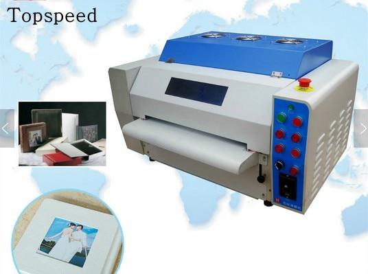 Mesin salutan UV profesional 12.5inch UV Laminating Machine - Elektronik pejabat - Foto 1