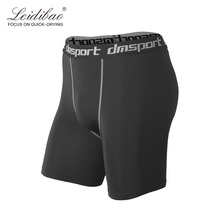 Men's Tight Shorts Training Compression Fit Quick Dry High Elastic Summer Workout   Male Gym Slim Fitness Hot Sale Men Sport Tig
