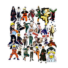 Naruto Sticker 49 Pcs/set Japan Anime For Laptop Luggage Car Skateboard Guitar Fridge Decal Toy For Children Gift Kid Toys F2(China)