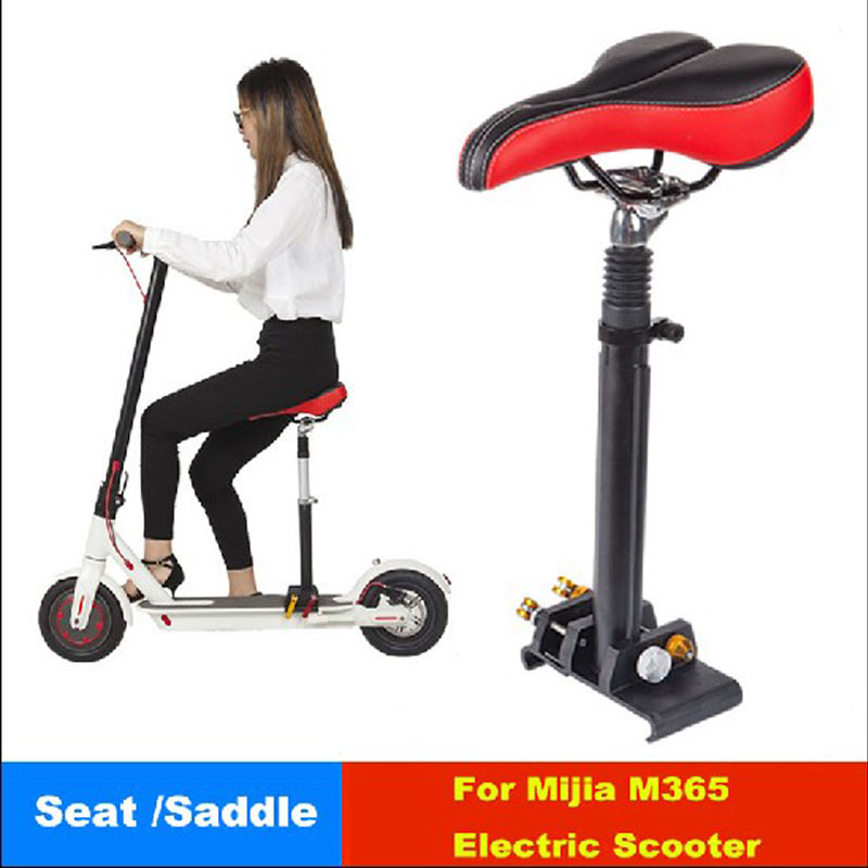 купить Xiaomi Scooter Seat Mijia M365 Foldable Saddle Scooter Height Adjustable With Shock Absorbing for Xiaomi Electric Skateboard по цене 5361.8 рублей