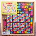 Бесплатная Доставка детские Ювелирам Утилиты деревянный цвет threading Бусы Блоки, девушки игрушки, английский алфавит блоки