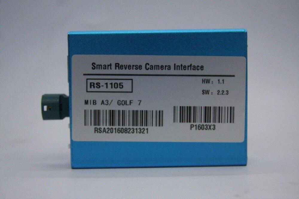 Interface pour Audi A3 MIB/GOLF MK7 intégration de caméra de voiture avec les lignes de stationnement