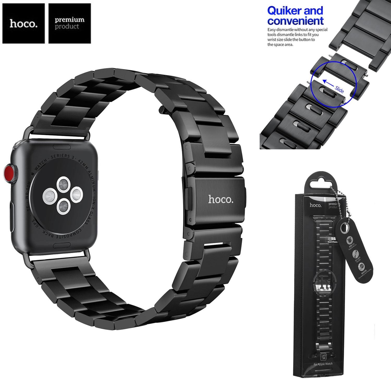 Originale HOCO Serie Cinturino del Cinturino di Vigilanza per di Apple 1 2 3 4 In Acciaio Inox Cinturini In Metallo per iWatch 38mm 42 millimetri 40 millimetri 44 millimetri