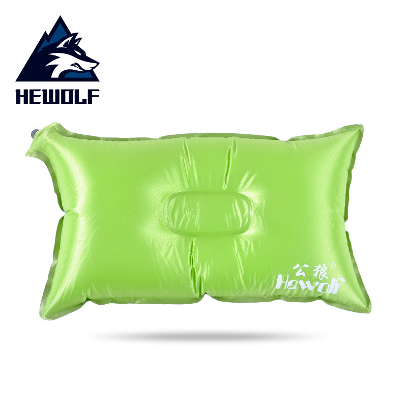 Hewolf 1PC Self-inflating Outdoor Travel Camping Pillow Inflatable Hiking Backpacking Gear Ultralight Portable Supplies 2018 CO