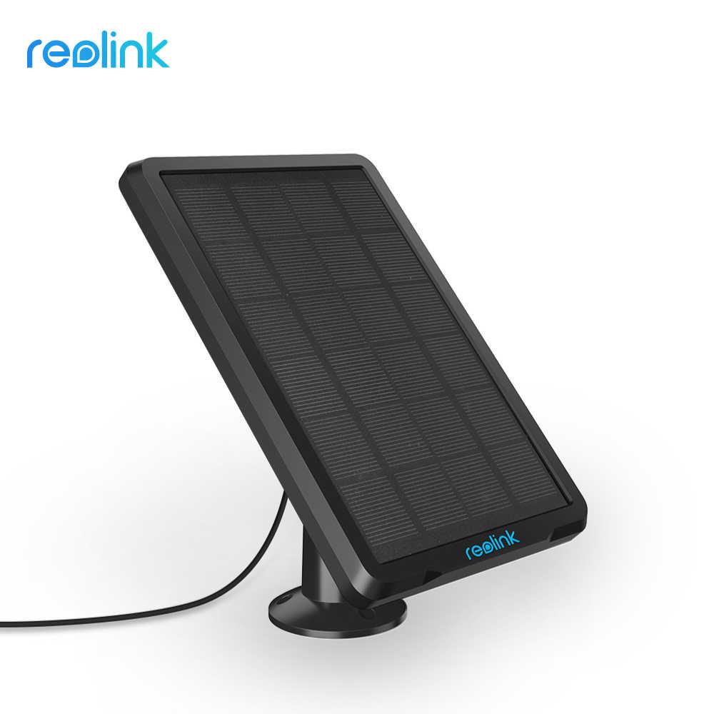 Reolink لوحة طاقة شمسية ل Reolink أرجوس 2 ، أرجوس برو ، أرجوس ايكو وتذهب بطارية قابلة للشحن تعمل بالطاقة IP الأمن WiFi كاميرا