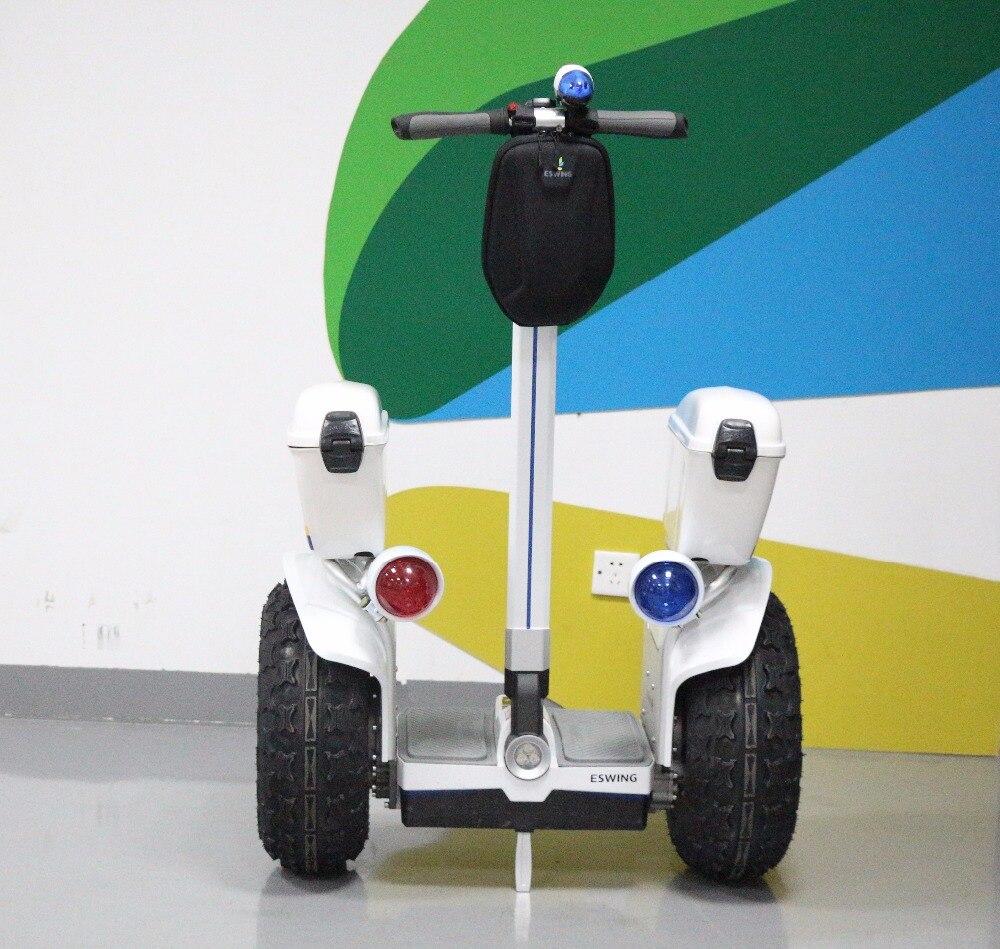 Aucun Impôt Grande roue 19 pouces 2400 W Électrique Scooter 72 v Hors Route 2 Roues Hoverboard D'équilibrage Intelligent Scooter Main Courante Debout à Vélo