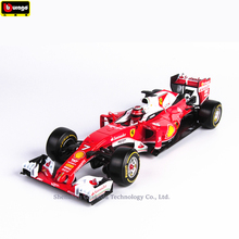 Bburago 1:18 Ferrari F1 SF-16h manufacturer authorized simulation alloy car model crafts decoration collection toy tools стоимость