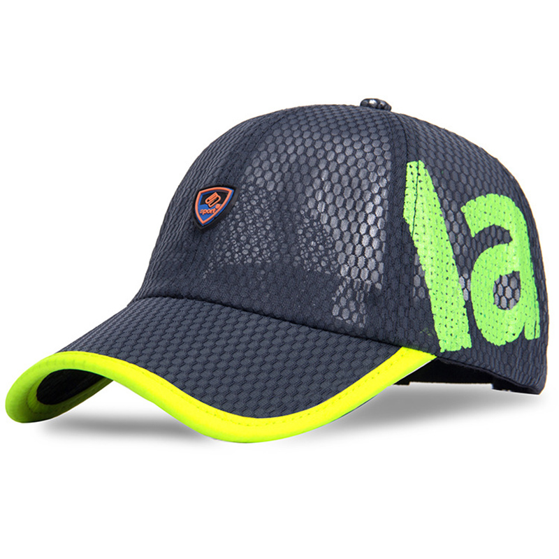 81c352b23 MNKNCL Quick Drying Mesh Baseball Cap Summer Cool Breathable Lightweight  Anti UV Sun Protection Hat Golf Running Sun Caps-in Baseball Caps from  Men's ...