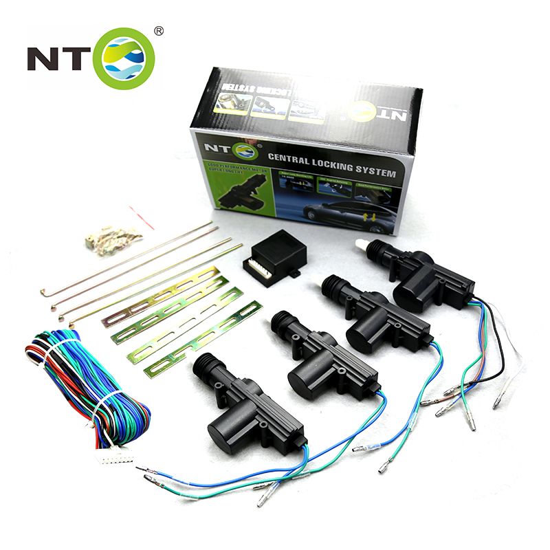 NTO véhicule Auto Central serrure de porte système d'entrée sans clé interrupteur de fenêtre électrique alarme de voiture coffre kit de déverrouillage électronique de voiture LD003