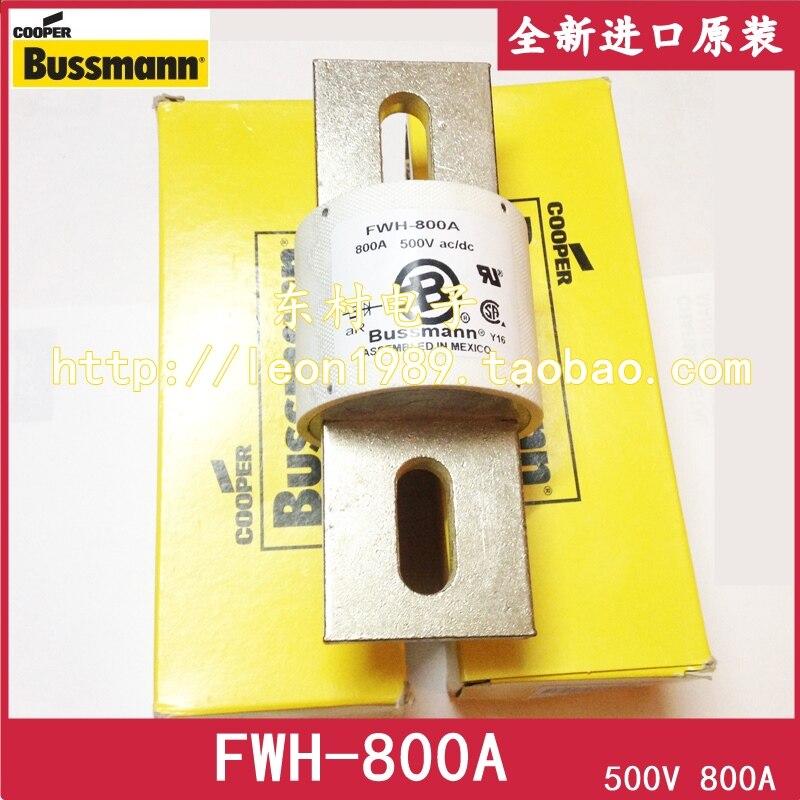 цена на [SA]US Bussmann Fuses FWH-800A 800A 500V ac / dc FWH-800A / Fuse