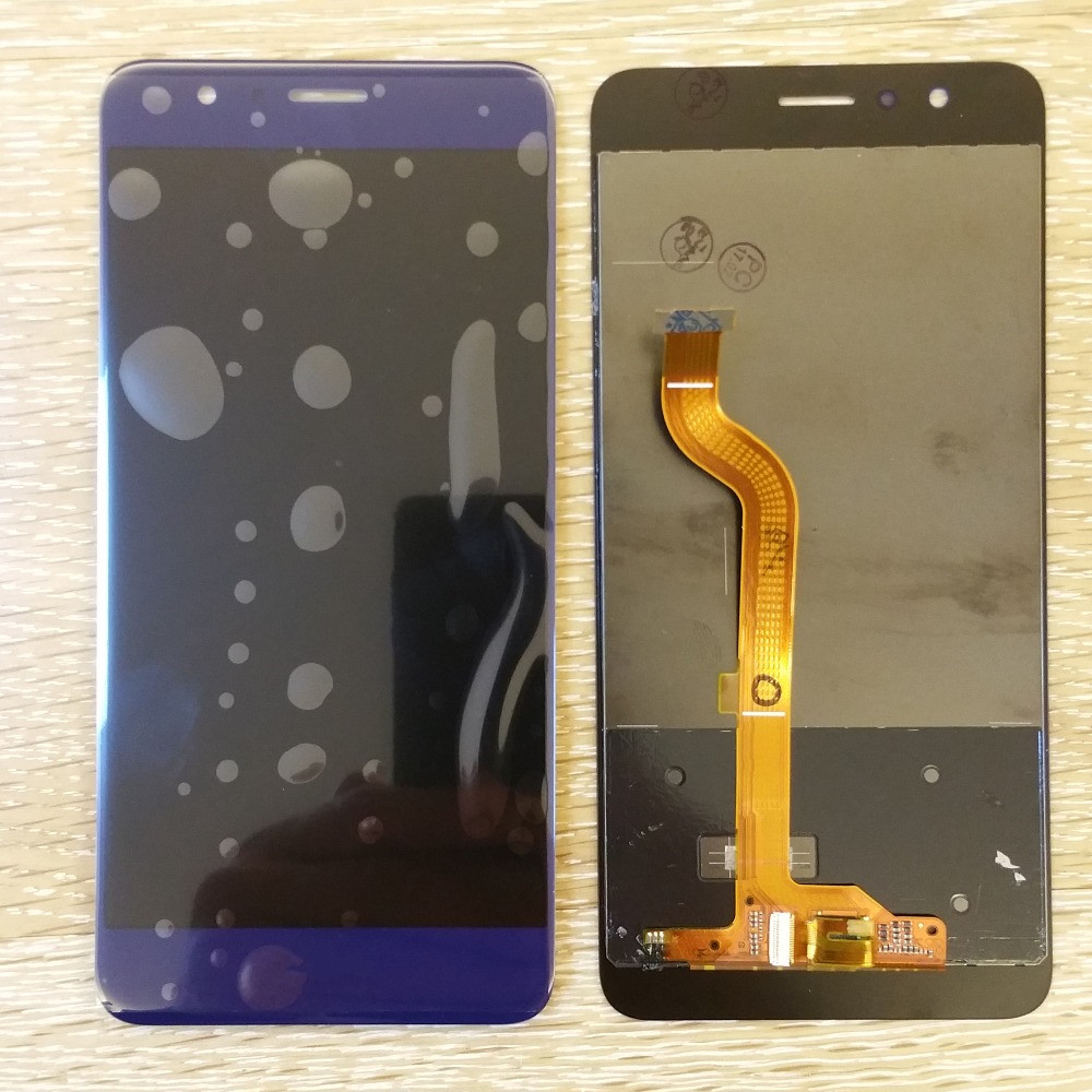 White/Black /Blue For Huawei Honor 8 FRD-L09 Lcd Display Pantalla+Touch Glass Digitizer Assembly Replacement screen lcd screen assembly for apple iphone 4 4g lcd display touch screen digitizer pantalla with frame bezel replacement black white