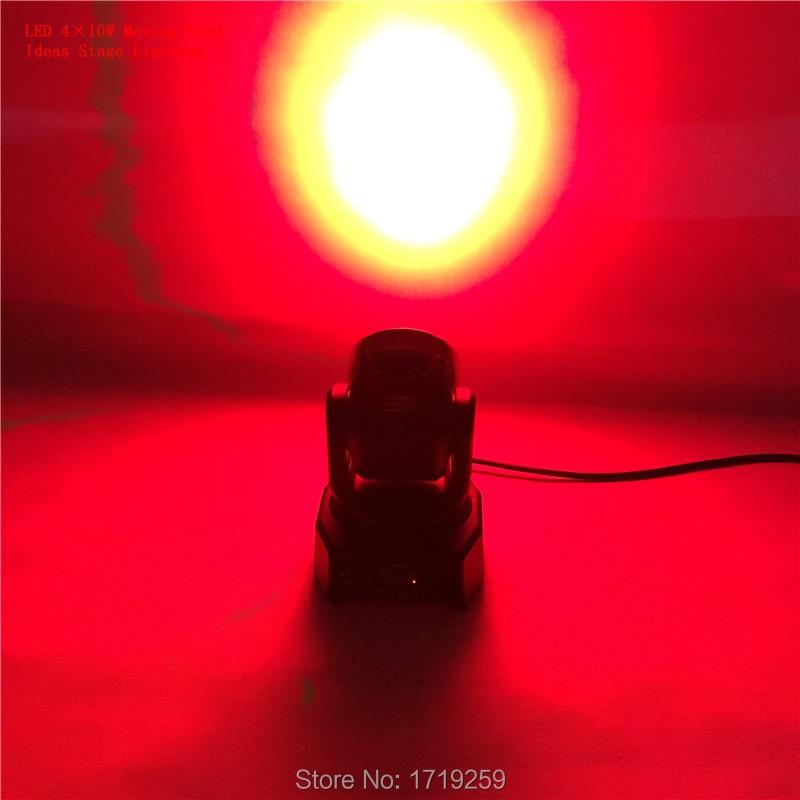 4pcs/lot led moving head mini wash 4x10w rgbw quad with advanced 9/12 channels Fast Shpping 4pcs lot fast shpping 150w led beam moving head light dj equipment 12x12w rgbw cmy quad