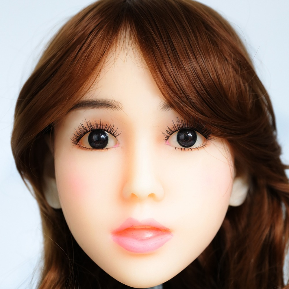 2017 Newest Top Quality Head 53# Big Doll's Head Natural Skin Sex Doll Head for Silicone Sex Doll Suit For More Than 140cm Doll 2017 newest top quality head 56 big doll s head tan skin sex doll head for silicone sex doll suitable for more than 140cm doll