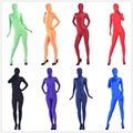 (A1-027) New fashion 2017 hot halloween catsuit spandex homens lycra terno sexy gay fetish shiny