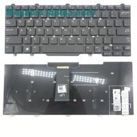 Fabrycznie nowe części do laptopa do Dell Latitude 3340 E5450 E7450 E7470 E7480 7490 5470 5480 QWERTY klawiatura amerykańska 094F68 94F68 w Zamienne klawiatury od Komputer i biuro na