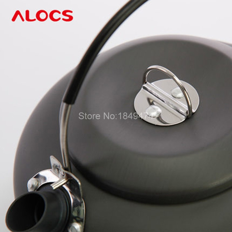 ALOCS cw-k03 1.4l Портативный Алюминий Сверхлегкий Открытый Пеший Туризм Отдых Выживание чайник воды чайник Кофе горшок Пособия по кулинарии pots