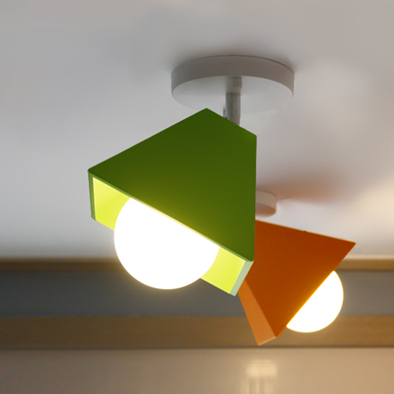 € 38.2 15% de DESCUENTO|Simple moderna sola cabeza pequeña lámpara de  escritorio creativa personalidad salón comedor lámpara de techo estudio  balcón ...