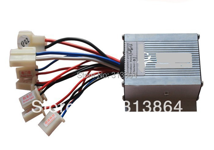 High quality 24v 250w brush dc motor controller e bike toy for 24v dc motor driver