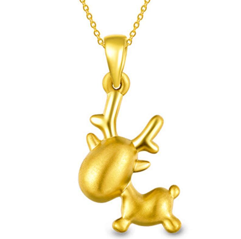 Pure 999 24k Yellow Gold Pendant / 3D Lovely Pendant / 1.3-1.6g