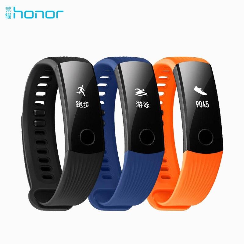 Ursprünglicher Huawei Honor Band 3 Smart-Armband Armband Swimmable 5ATM 0,91