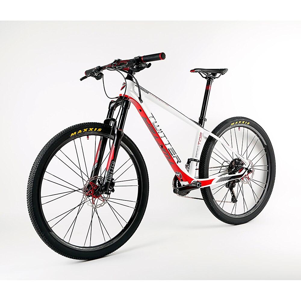 2017 Ultra-Léger 22/33 Speed Carbon fibre Cadre VTT VTT Vélo 27.5 Montagna Bicicletas Sport Cyclisme andShimano M7000