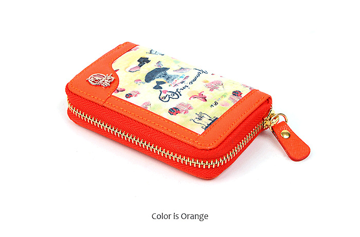 5dd272ce14 (Marco Polo)NEW Unisex Women s Saffiano Real Leather Mini Card Wallet (5  Color)-in Card   ID Holders from Luggage   Bags on Aliexpress.com