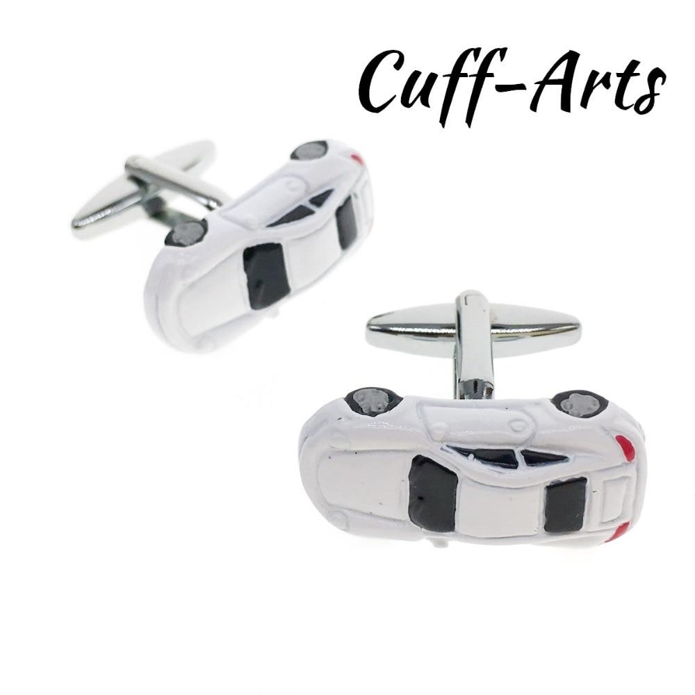 Cuffarts 2018 Car Cufflinks For Mens Men Jewelry Cufflink Gemelos Para Hombre Camisa Gemelos Tie Clip Cuff Links C20017
