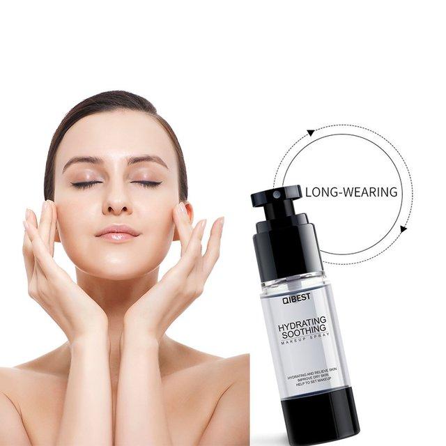 Maquillaje Spray de fijación Primer maquillaje de larga duración de cara hidratante niebla Toner para la piel seca