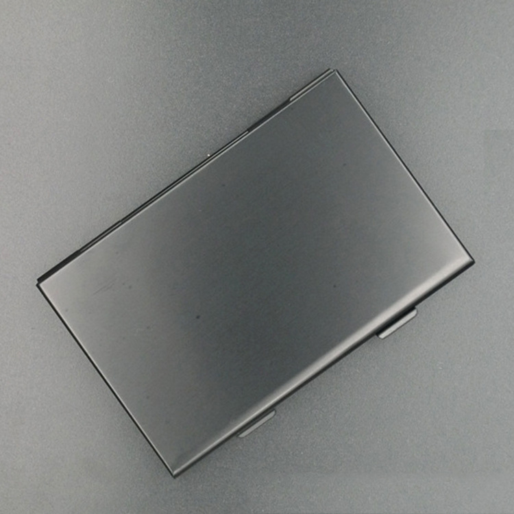 Black Aluminium Alloy Micro for SD MMC TF Memory Card Storage Box Protecter Case 4x for SD Card 8 X Micro SIM Card