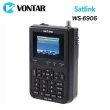 """[Подлинный] Satlink WS-6906 3.5 """"DVB-S FTA цифровой спутниковый Метр Satellite Finder WS 6906 Satlink WS6906 Бесплатная доставка yojia"""