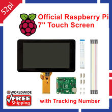 Promo offer Original Official Raspberry Pi 7 inch 800×480 TFT LCD Touchscreen Display LCD Monitor For Raspberry Pi 3/2B Model B / B+ / A+