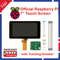 Original Official Raspberry Pi 7 Inch 800x480 TFT LCD Touchscreen Display LCD Monitor For Raspberry Pi