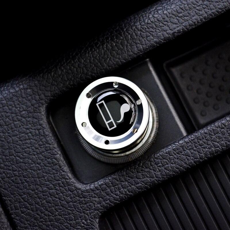 nrz Silver Aluminum Car Cigarette Lighter For AUDI A1 A3 A4 A5 A6 A7 A8 Q3 Q5 Q7 R8 RS5 RS7 S5 S8 RS8