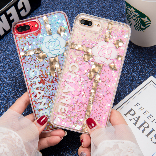 low priced a881a e5620 US $4.99 |Quicksand Cases For iphone 8 7 6 6S 6 Liquid Glitter Quicksand  Case For iphone 6 7 8 6S Plus Cover Colorful Paillette Sand shell-in ...