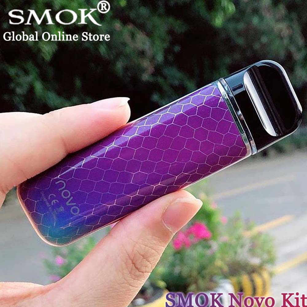 En Stock! Kit SMOK NOVO 450 mAh dispositif Novo 2 ml vaporisateur à dosette cigarette électronique Kit de démarrage stylo Vape VS Kit SMOK Vape 22