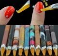 2 х необходимые карандаш Nail Art Стразы Самоцветы выбор Инструменты самоклеящиеся JX04 Карандаш Pen расставить + Бесплатная Доставка