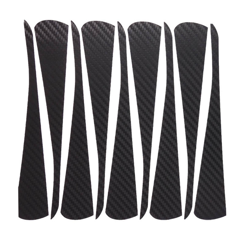 Savanini Car-Styling 1set 16 Inches Carbon Fiber Wing Wheels Mask Decal Sticker Trim For VW Golf K Style