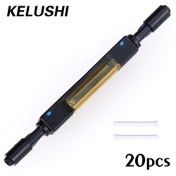 20pcs / lots Free Shipping L925B Fiber Optic Quick Connector for Drop Cable Bare Supply Optical Fiber Mechanical Splice KELUSHI