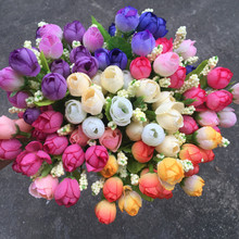 Colorful Silk Flowers for Home Decor