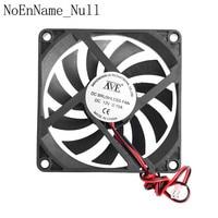 12V 2 Pin 80x80x10mm PC Computer CPU System Heatsink Brushless Cooling Fan 8010