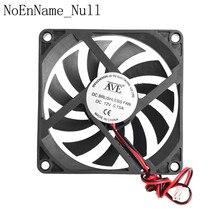 12V 2-Pin 80x80x10mm PC Computer CPU System Heatsink Brushless Cooling Fan 8010