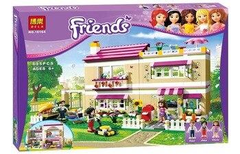 Casa di Olivia 3315 Blocchi di Costruzione del Modello Giocattoli Educativi Per I Bambini Amici Mattoni BELA 10164 Compatibile Figure Set