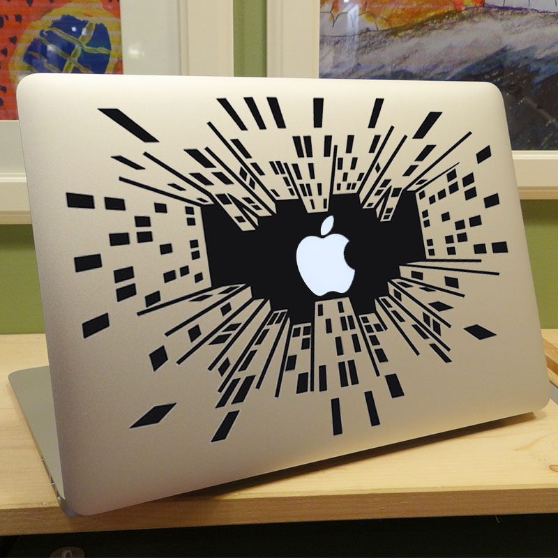 Looking Up in the Big City Vinyl Laptop Sticker for Apple MacBook Decal 11