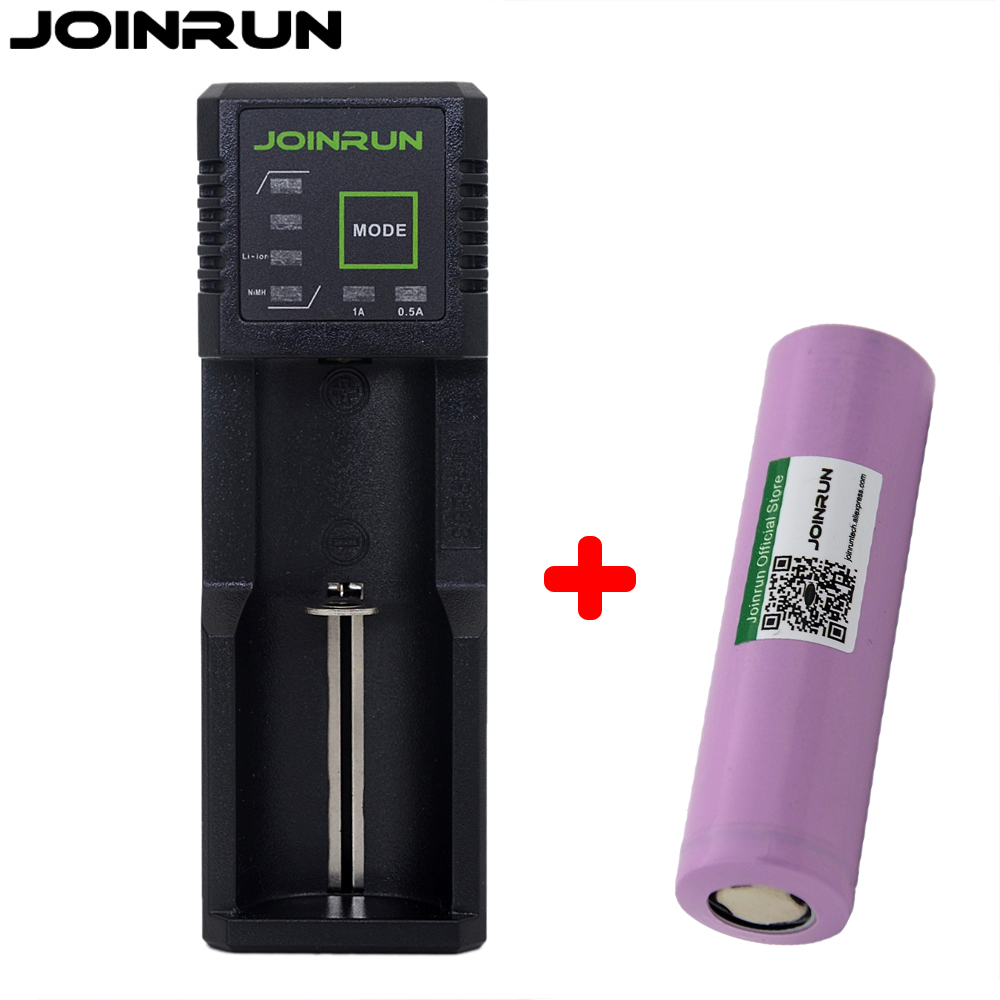 Joinrun N1 Plus 18650 battery charger with 1800mah li-ion battery Smart charger for 1.2V 3.7V 3.2V AA/AAA