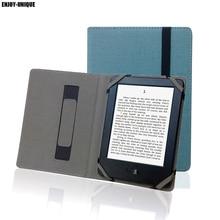 Naturalne konopie skrzynka dla Pocketbook 6 cal eReader pokrywa pościel poszewka na poduszkę dla Pocketbook 611 613 614 622 625 626 etui ochronne etui