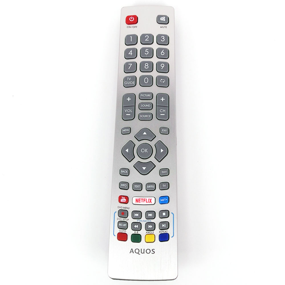 New Original TV Remote SHWRMC0115 For Sharp Aquos Smart LED TV IR Controle with Netflix Youtube 3D Button Fernbedienung