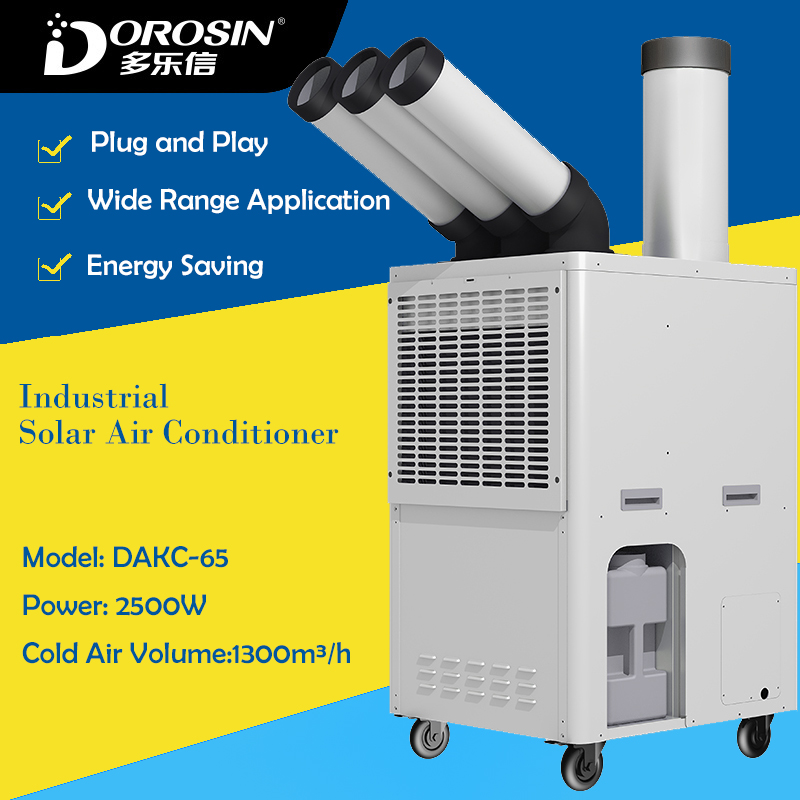 Cold Air Conditioner DAKC 65 2500W Power Industrial Air Humidifier Cold Air Making Machine Factory Equipment Cooling